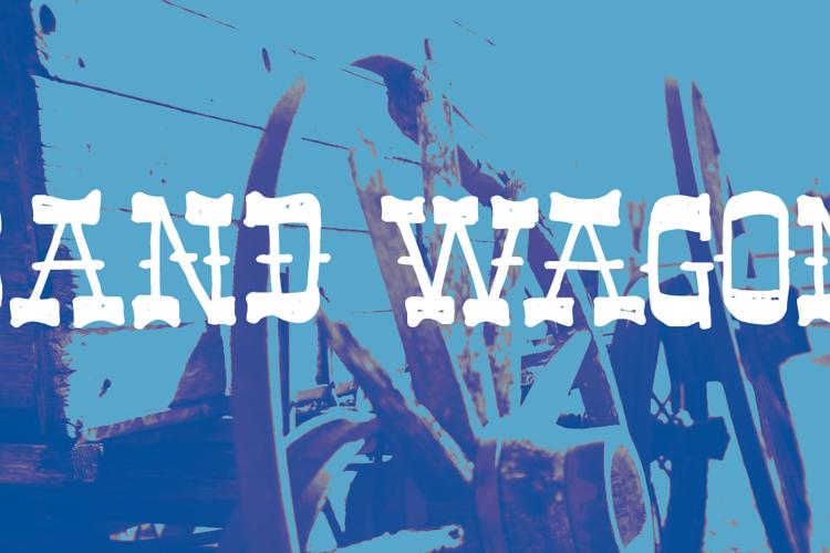 Band Wagon DEMO Font