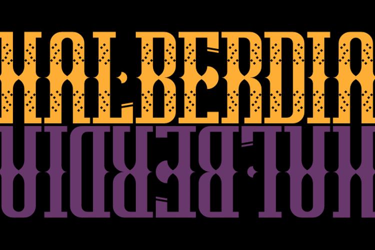 Halberdia Font