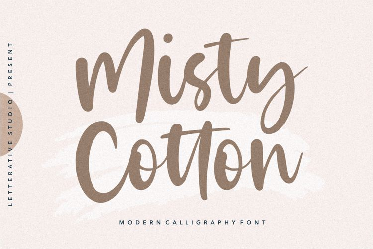 Misty Cotton Font