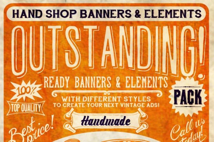 Hand Shop Typography C30_demo Font