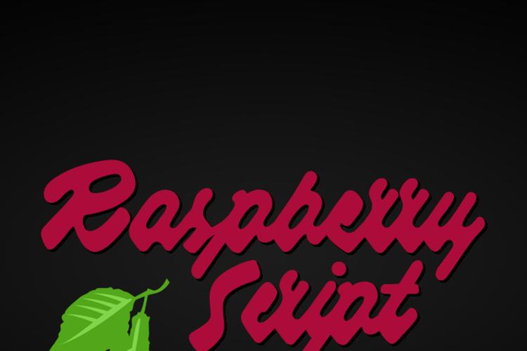 Raspberry Font