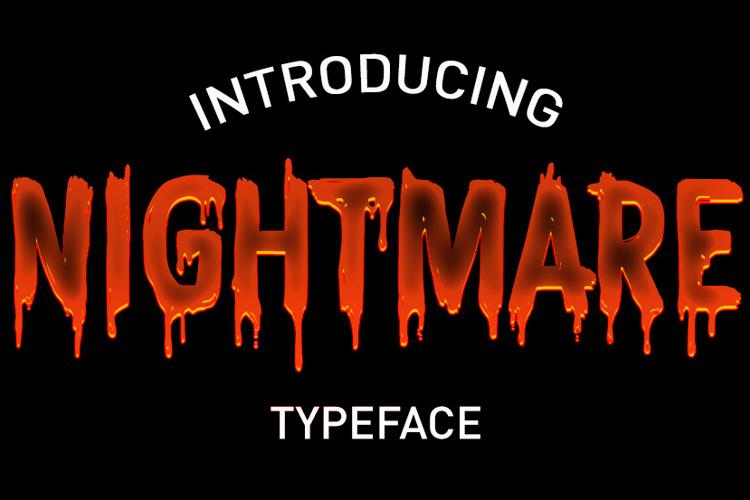 CF Nightmare Font