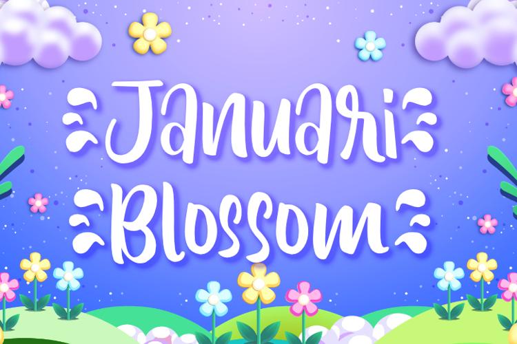 Januari Blossom Font
