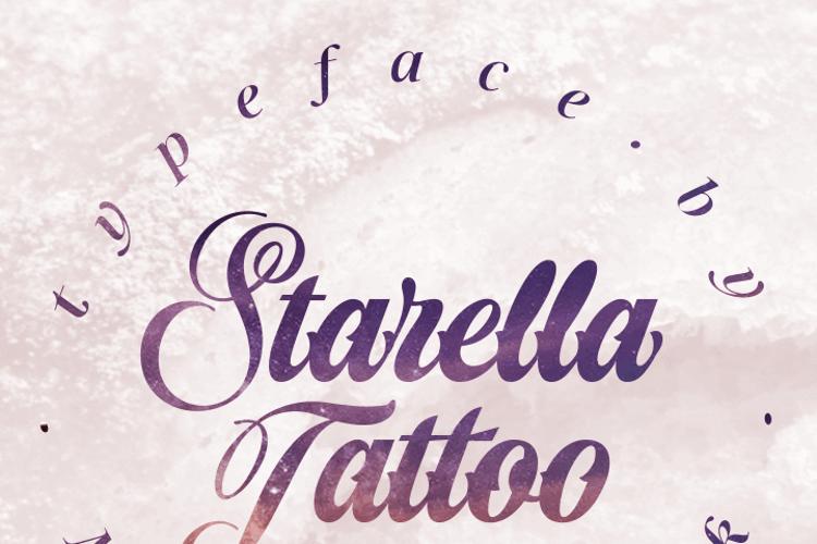Starella Tattoo Font