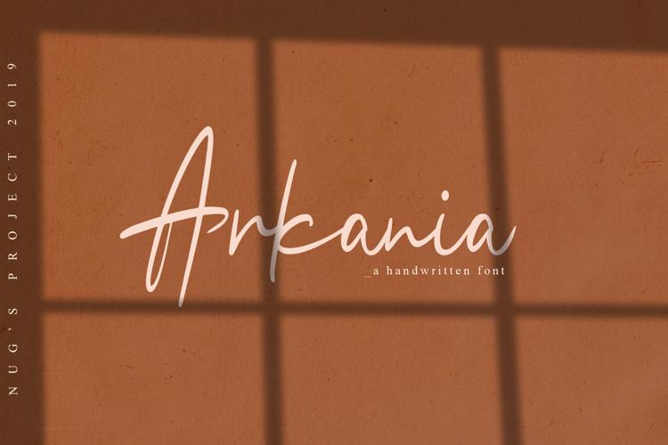 Arkania Font