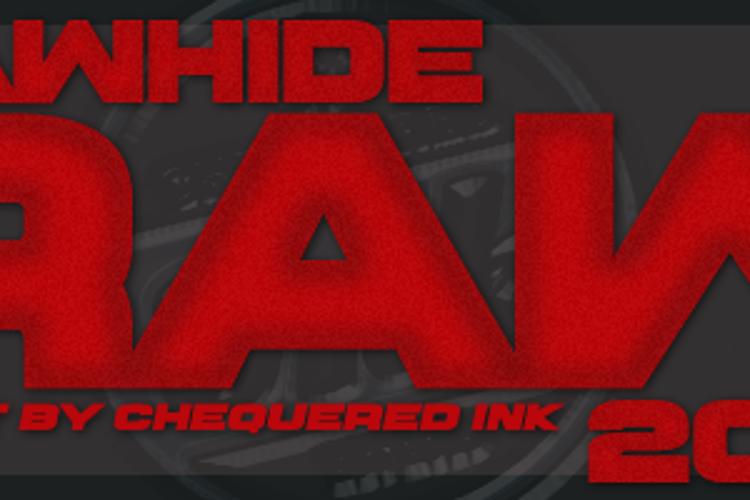 Rawhide Raw 2016 Font