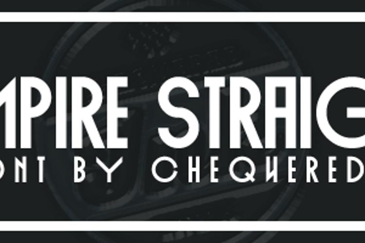Empire Straight Font