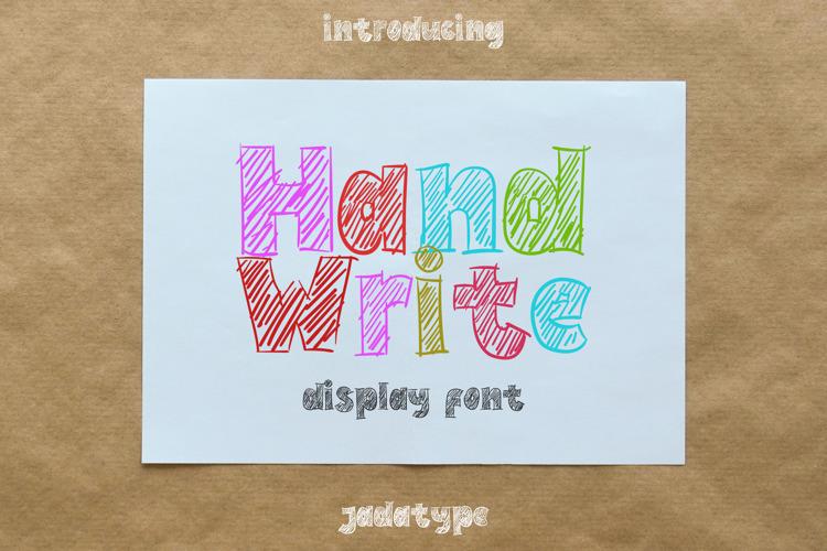 Hand Write Font