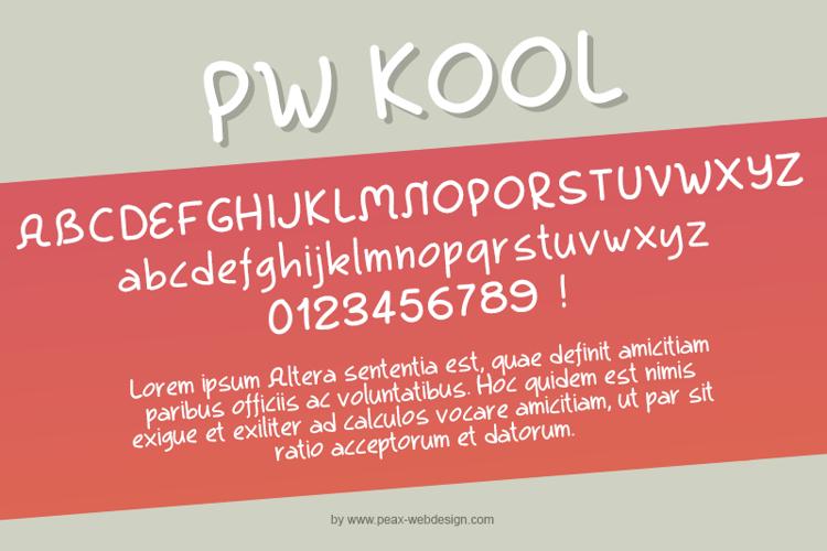 PWKool Font