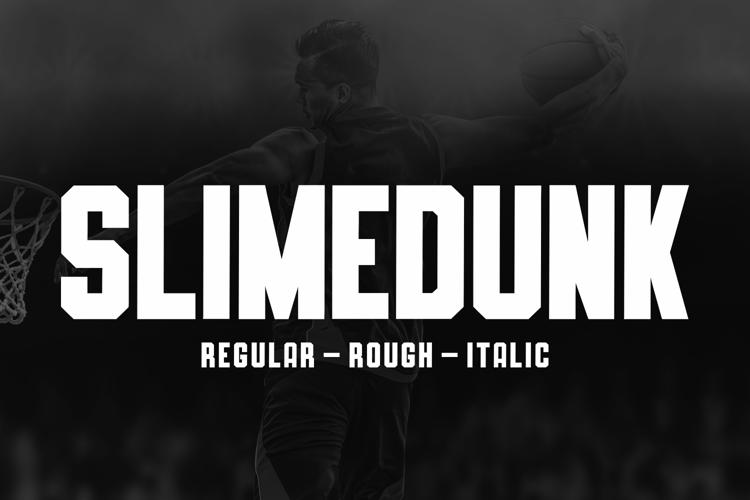 SLIMEDUNK Font