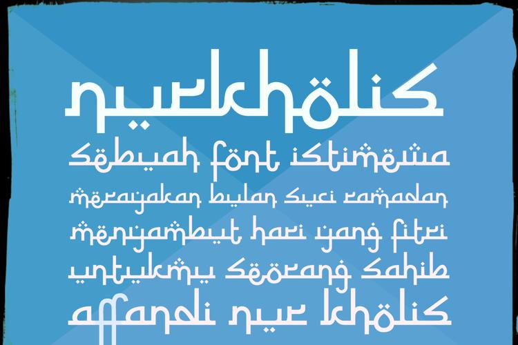 Nurkholis Font