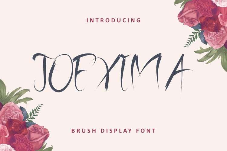 Joexima Font