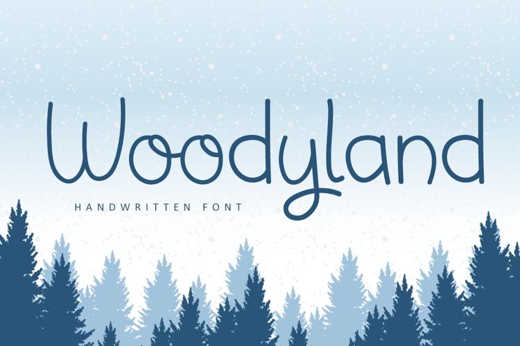 Woodyland Font