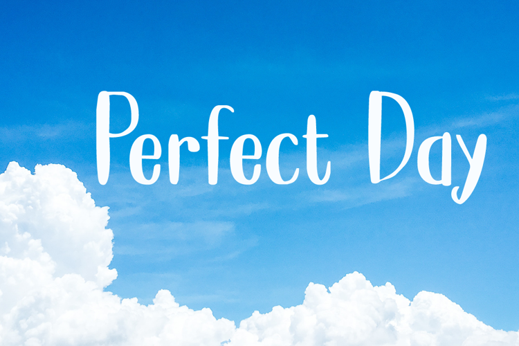 Perfect Day DEMO Font