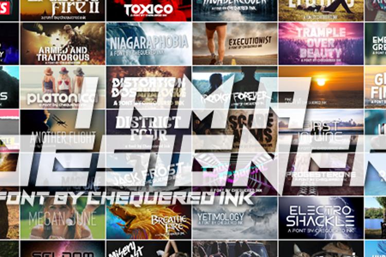 I Am A Designer Font
