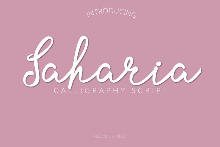 Saharia Font
