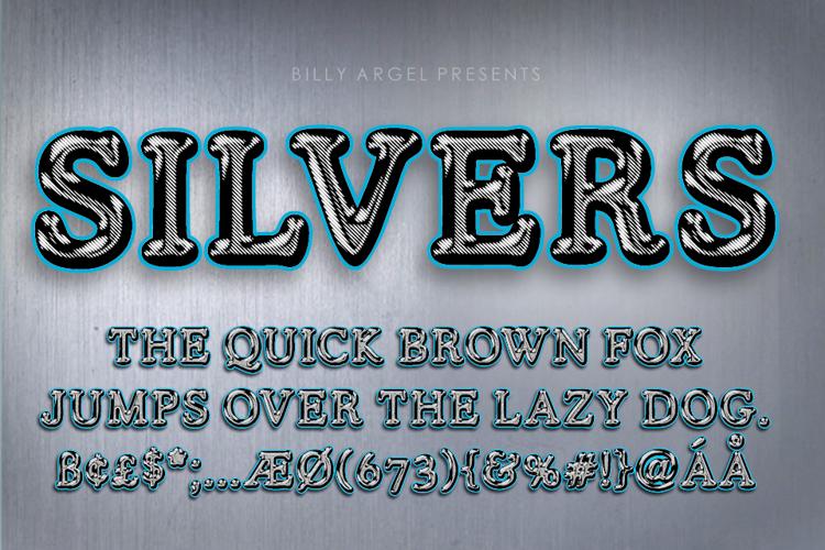 SILVERS Font