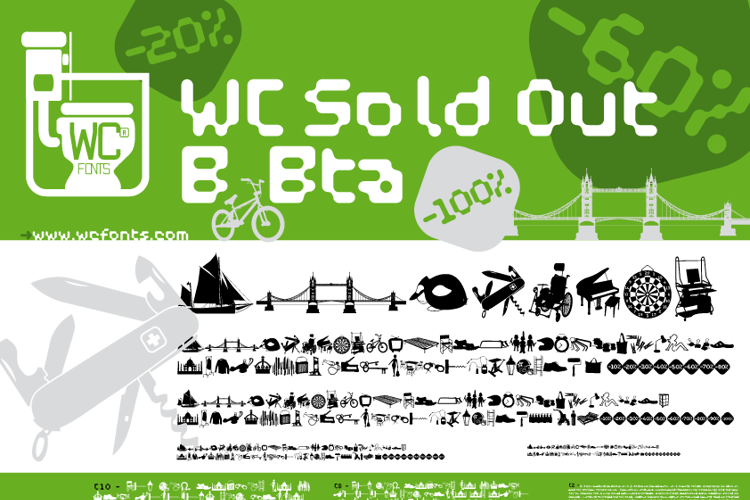 WC Sold Out B Bta  Font
