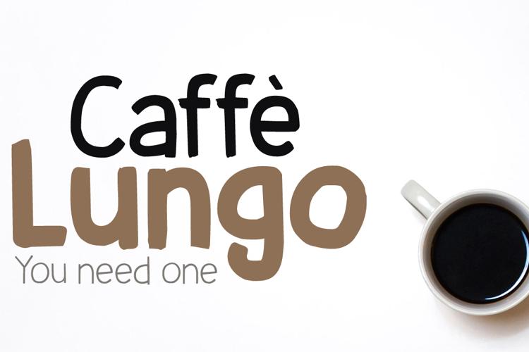 Caffe Lungo DEMO Font