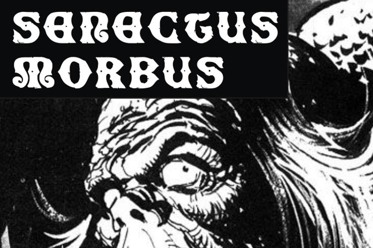 SenectusMorbus Font