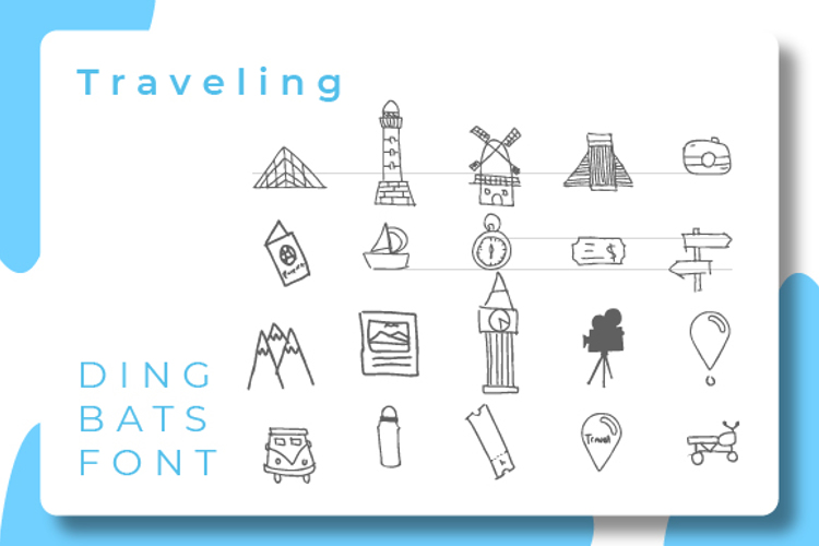 Travelling Font