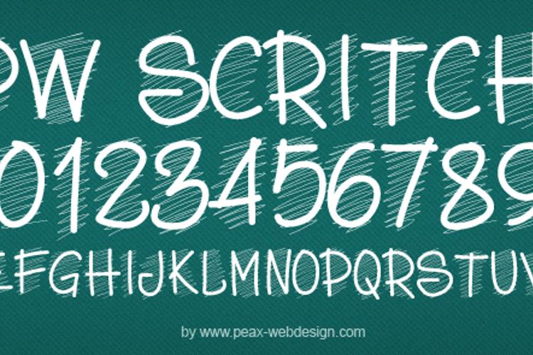 PWScritch Font