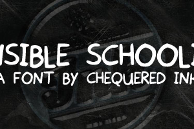 Sensible Schooling Font