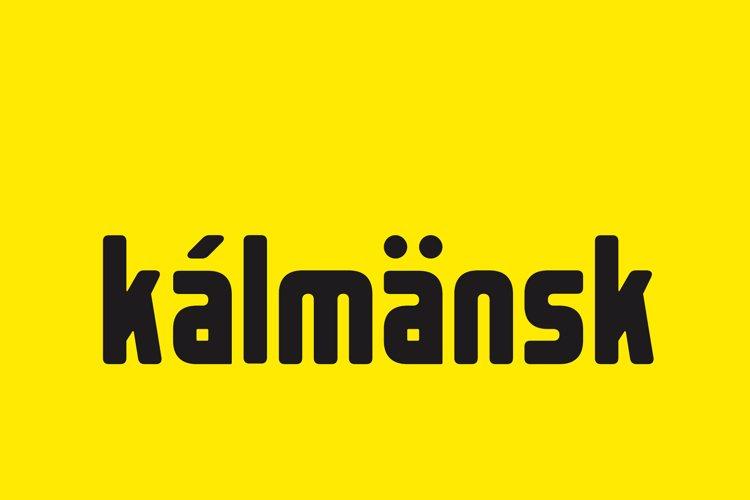 Kalmansk Font