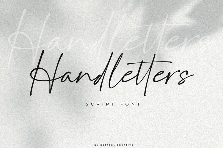 Handletters Font