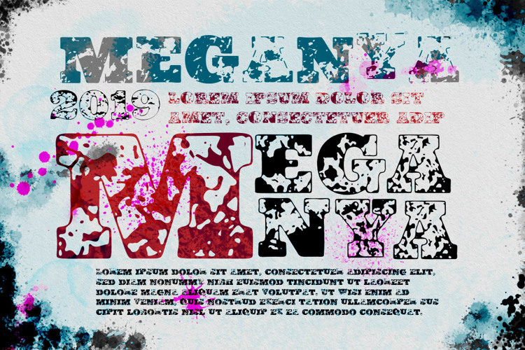 Vtks Meganya Font