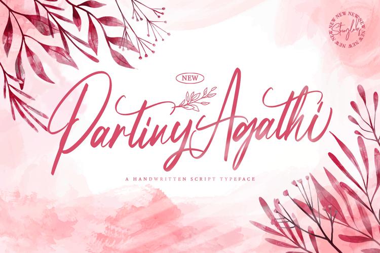 Partiny Agathi Font