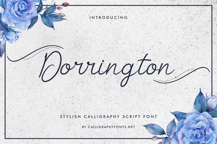 Dorrington Font