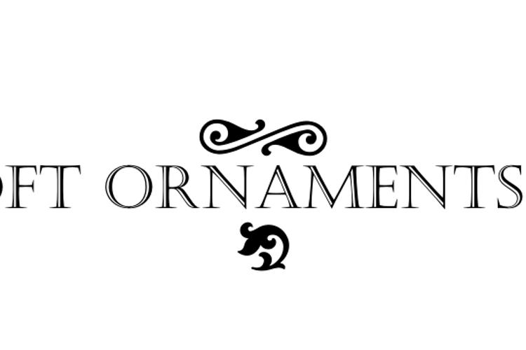 Soft Ornaments Eighteen Font