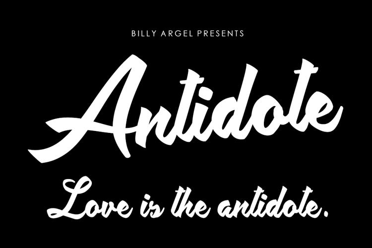 Antidote Font