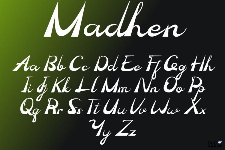 Madhen Font