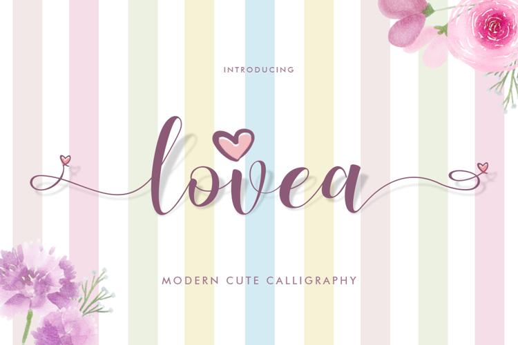 Lovea Font