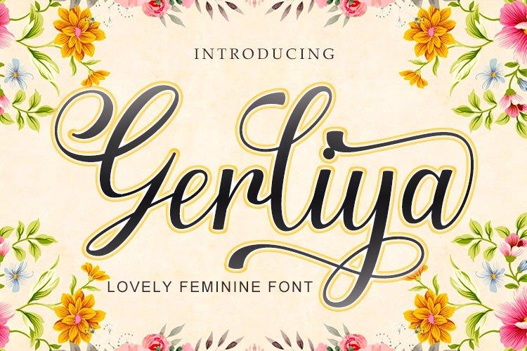 Gerliya Font