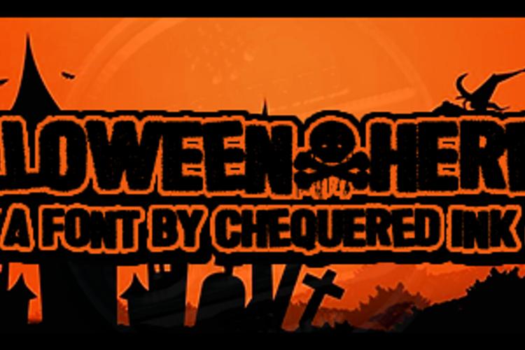 Halloween * Heresy Font