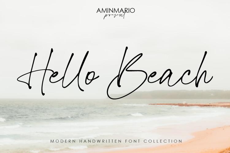 Hello Beach Font