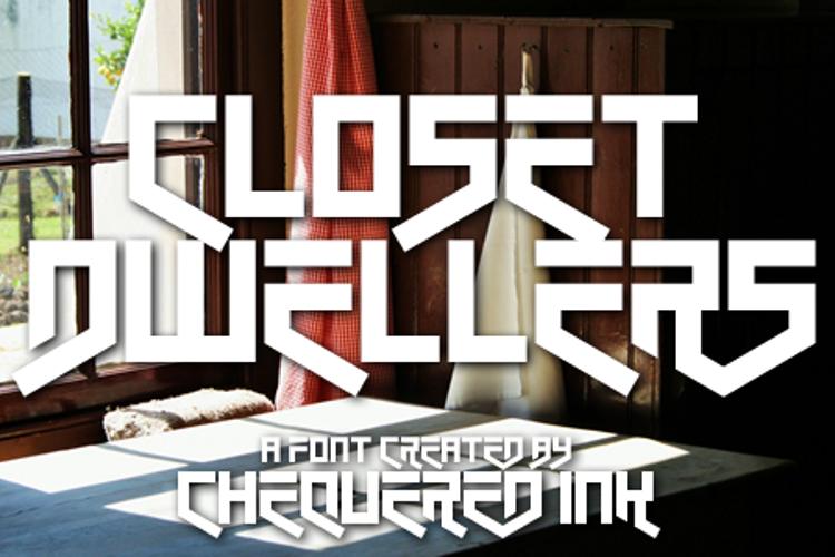 Closet Dwellers Font