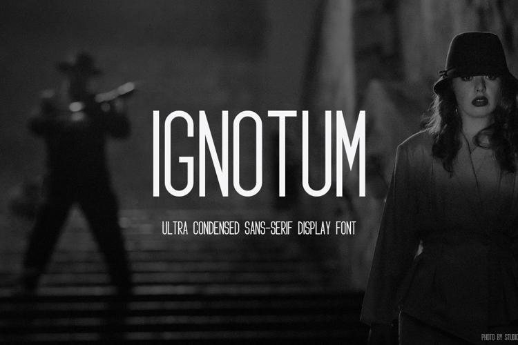 Ignotum Font