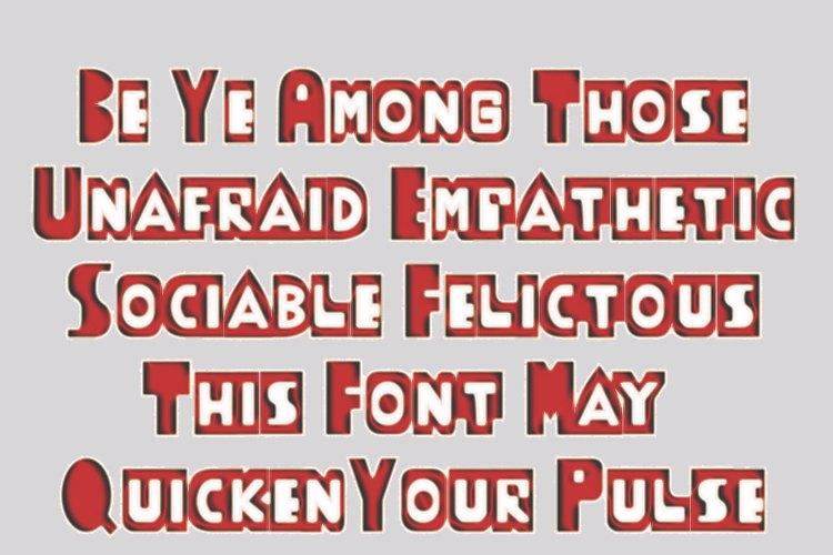 ThudThunk Font