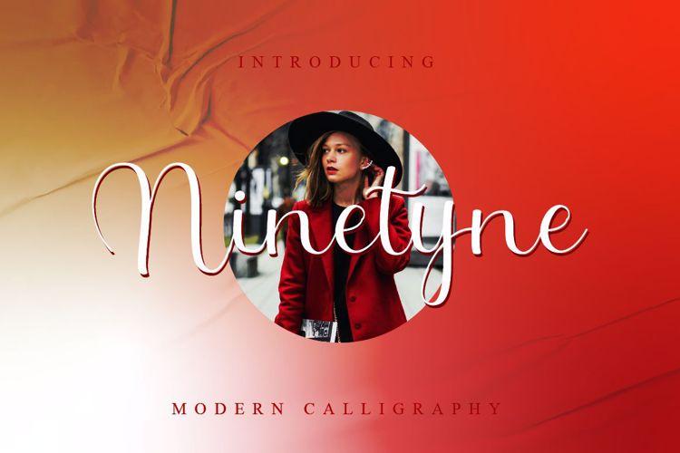 Ninetyne Font