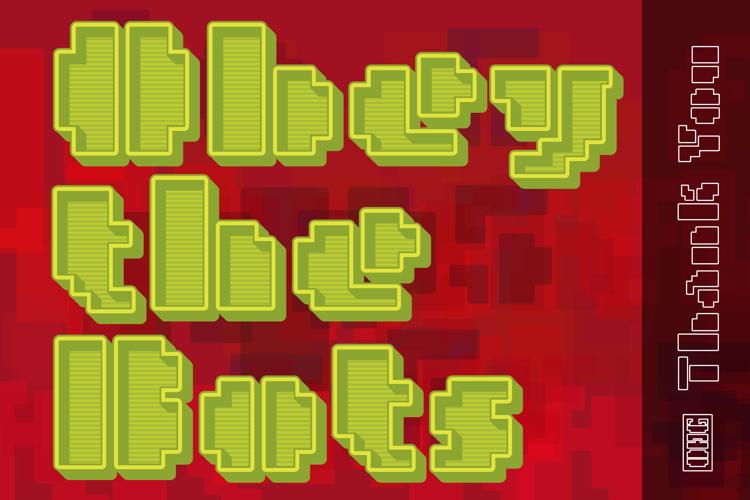Metro Bots _chrome Font