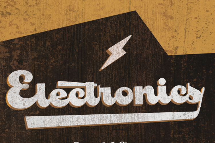 Electronics Font