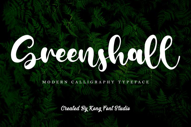 Greenshall Font