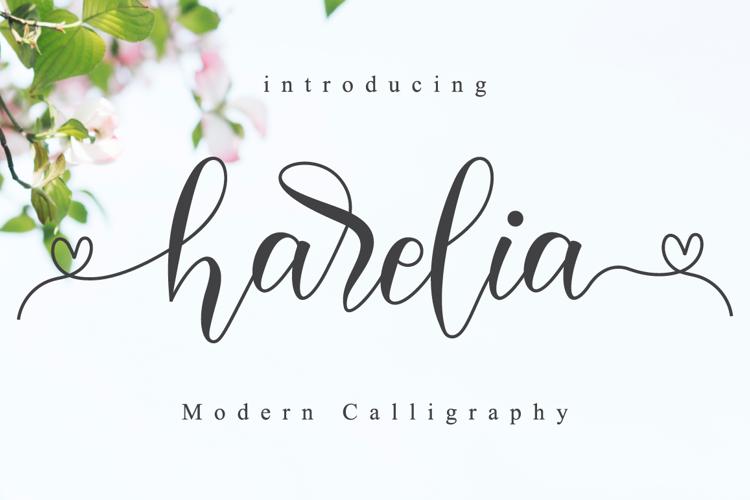 Harelia Font