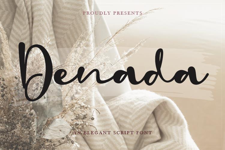 Denada - Font