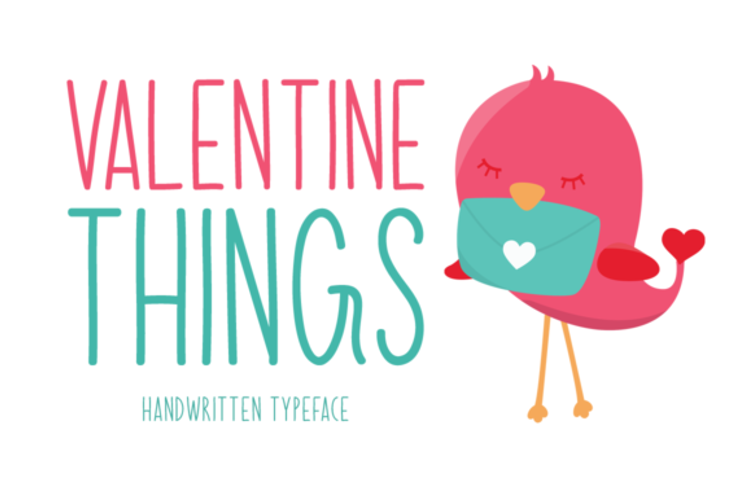 Valentine Things Font