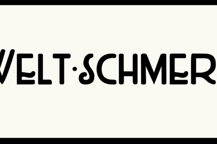 DK Weltschmerz Font